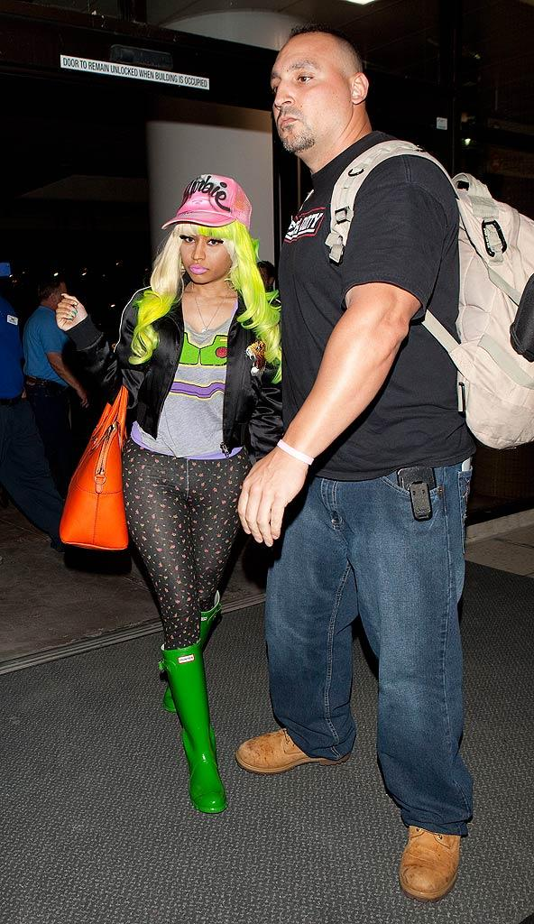 Nicki Minaj LAX