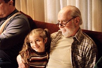 Raquel Castro and George Carlin in Miramax's Jersey Girl