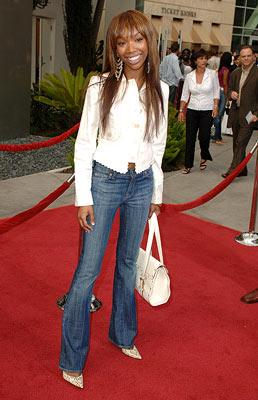 Premiere: Brandy at the Hollywood premiere of Paramount Classics' Hustle & Flow - 7/20/2005