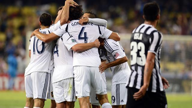 Serie A - Galaxy shock Juventus in LA