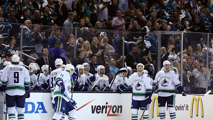 Vancouver Canucks v San Jose Sharks - Game Three