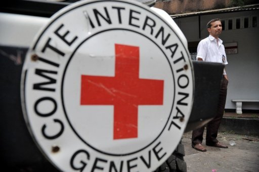 An ICRC official is seen in Colombia. The International Committee of the Red Cross appealed for $1.2 billion (967.5 million euros) to cover its humanitarian activities next year, but acknowledged that many donors were feeling the impact of the economic slowdown.