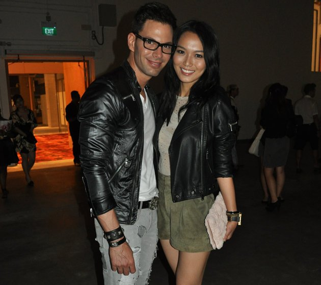 Celebrity power couple Joanne Peh and Bobby Tonelli have split after four years together (Yahoo! File Photo)