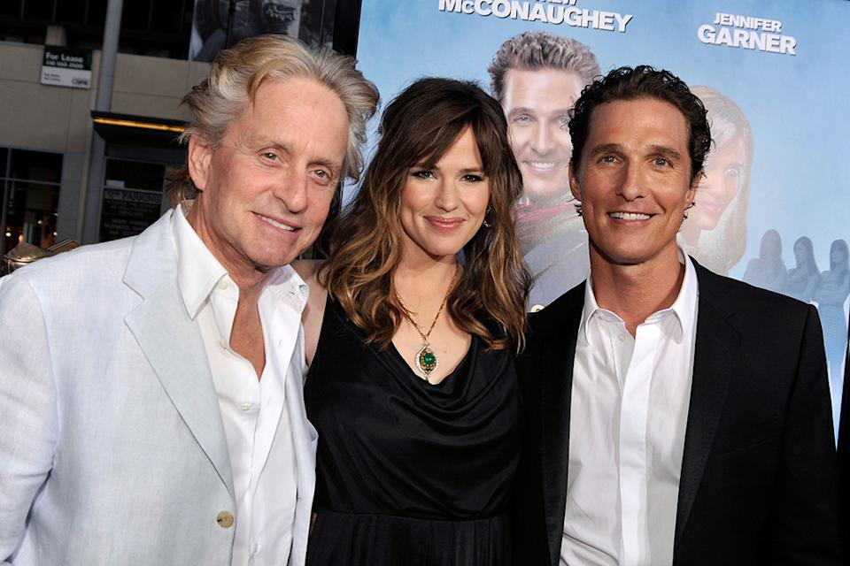 Ghosts of Girlfriends Past LA Premiere 2009 Michael Douglas Jennifer Garner Matthew McConaughey