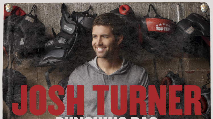 "This CD cover image released by MCA Nashville shows the latest release by Josh turner, ""Punching Bag."" (AP Photo/MCA Nashville)"