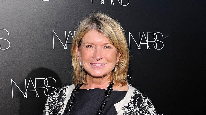 Martha Stewart Nars Event