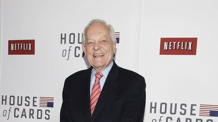 "Netflix's ""House Of Cards"" Washington DC Screening: Bob Schieffer"