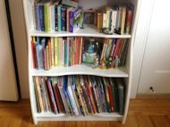 Children need their own books and shelves