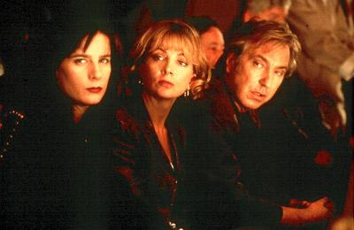 Rachel Griffiths , Natasha Richardson and Alan Rickman in Miramax's Blow Dry