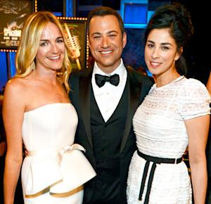 Sarah Silverman Reunites With Ex Jimmy Kimmel and His Fiancee Molly McNearney: Picture