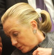 Beauty News!  Hillary Clinton Scrunchie Gate!