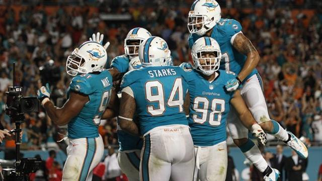 American Football - Safety last for Dolphins in tight win over Bengals