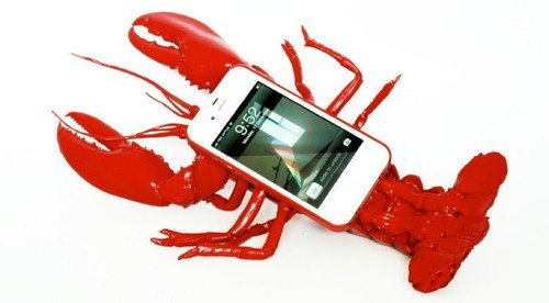 The Lobster iPhone case: Probably the most impractical case you will ever see. iPhone, Phones, iPhone cases 0