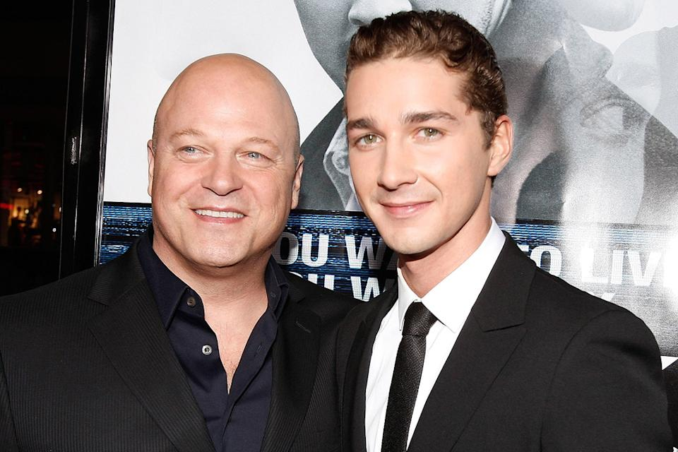 Eagle Eye LA Premiere 2008 Shia LaBeouf Michael Chiklis