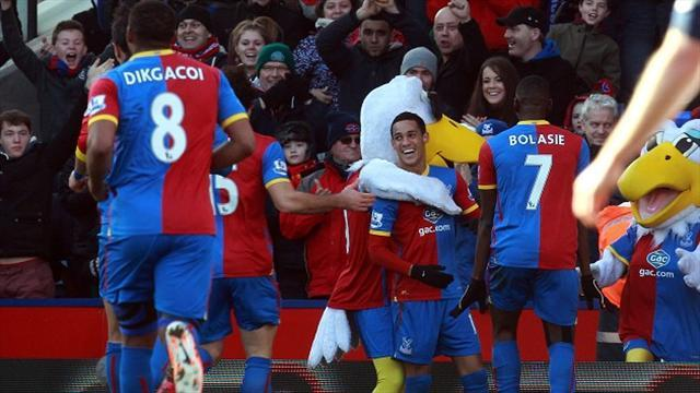Premier League - Rodriguez goal enough for Southampton against Palace