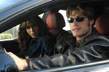 "Chris Carmack and Nadine Velazquez USA Network's ""The Last Ride"" Nadine Velazquez"