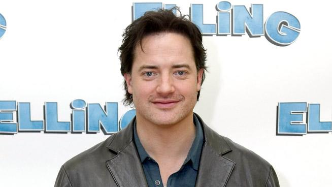 Brendan Fraser Broadwayelling Cast Meet And Greet