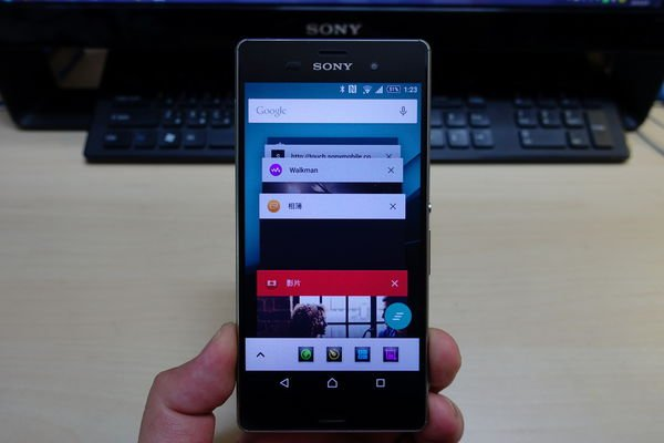 SONY Z3 Android 5.0 一鍵清除 回來囉