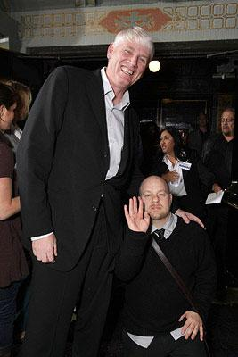 Executive producer Mike Richardson and director David Slade at the Los Angeles premiere of Columbia Pictures' 30 Days of Night