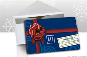 The Gap gift cards