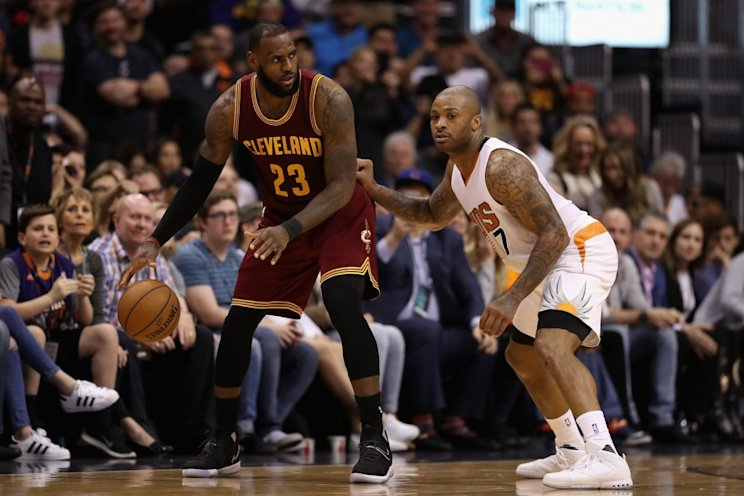 P.J. Tucker gives Toronto another body to throw at LeBron James, if it comes to that. (Getty Images)
