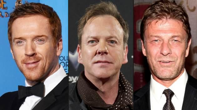Damian Lewis, Kiefer Sutherland, Sean Bean -- Getty Images