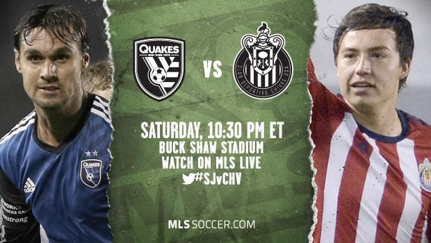 San Jose Earthquakes vs. Chivas USA | MLS Match Preview