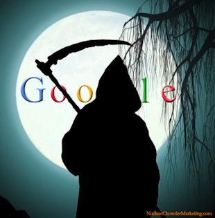 Why Google Should Scare Every Business To Death image Google Reaper Of Business Death