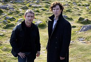 Martin Freeman and Benedict Cumberbatch | Photo Credits: BBC/Hartswood Films