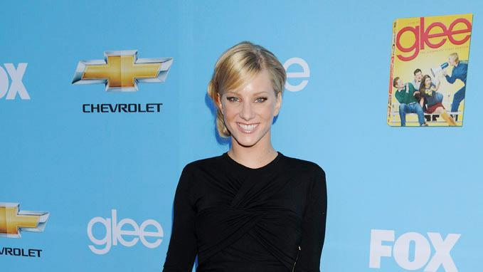 "Heather Morris attends the ""Glee"" Season 2 Premiere Screening and DVD Release Party at Paramount Studios on September 7, 2010, in Hollywood."
