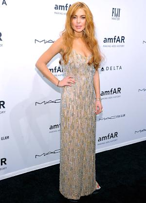Lindsay Lohan Returns Borrowed $1,750 Designer Dress in Tatters: PICTURES