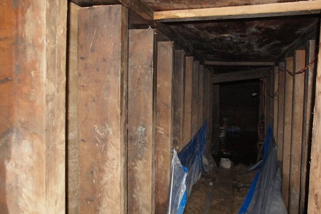 The mysterious Toronto tunnel proved to be nothing more than a local resident's man cave.