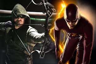 Arrows Stephen Amell Was Unhappy With Flash Movie Reveal image image48