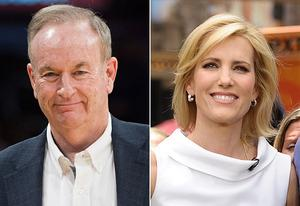 Bill O'Reilly, Laura Ingraham | Photo Credits: Noel Vasquez/Getty Images