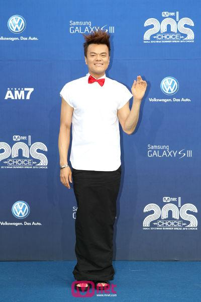 2012 Mnet 20's Choice Awards - Park Jin Young