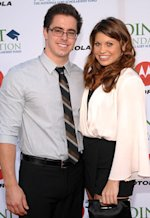 Tim Belusko and Danielle Fishel | Photo Credits: Duffy-Marie Arnoult/Getty Images