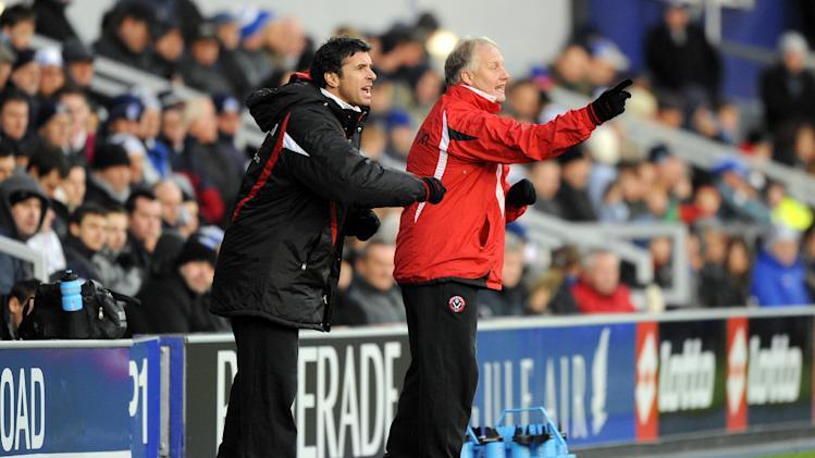 Kevin Blackwell (right) and Gary Speed