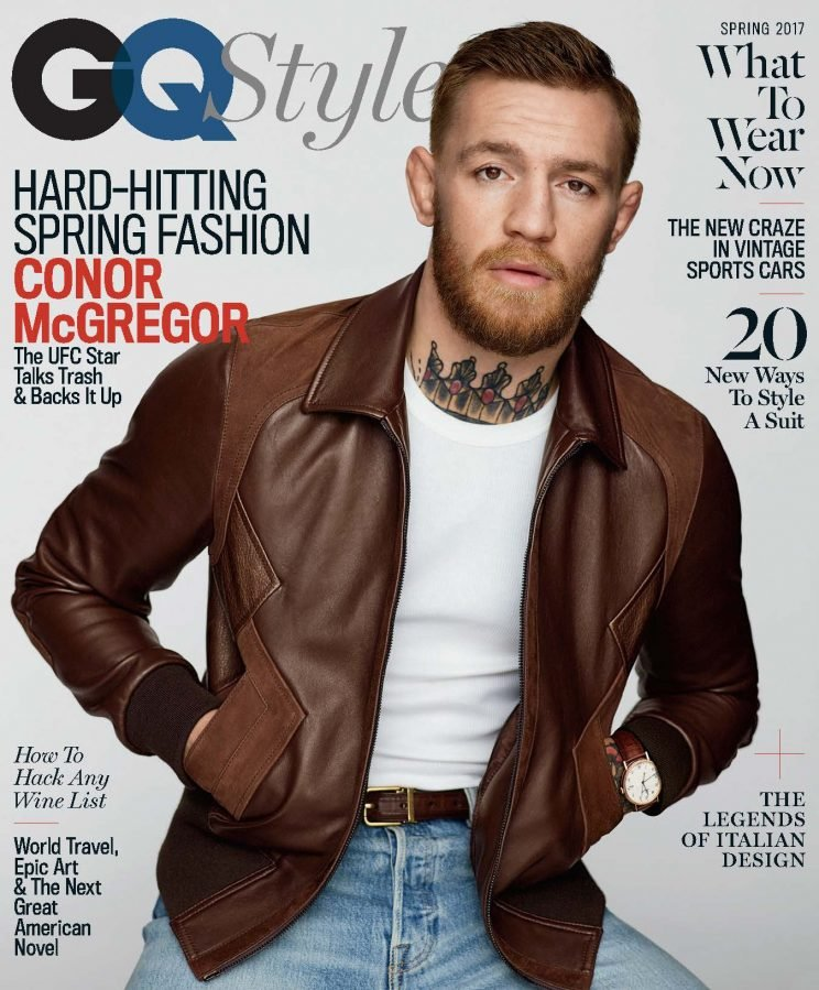 Conor McGregor says his next fight will be against Floyd Mayweather. (Photo credit: GQ Style)