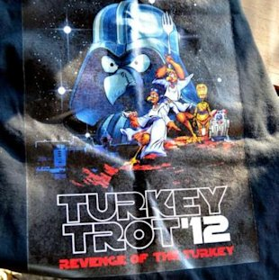 Revenge of the turkey trot!