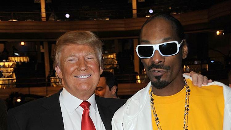 Trump Snoop Dogg Trump Roast