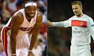 LeBron James And David Beckham 'In Miami Talks'