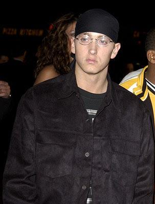 Eminem at the LA premiere of Universal's 8 Mile