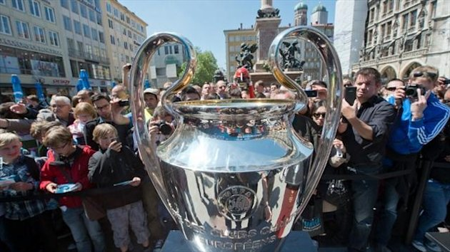 2012 Champions League trophy