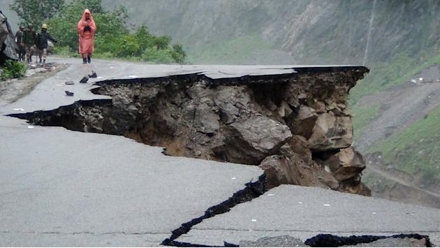 INDIA-WEATHER-MONSOON-LANDSLIDE