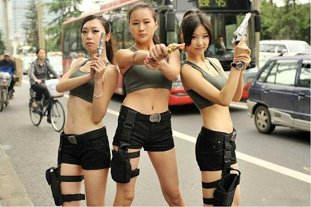 Chinese Lara Croft
