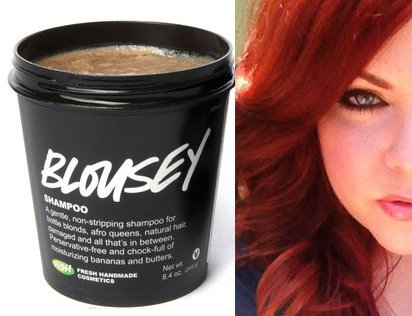 Lush Blousey shampoo and Krista DeWeese