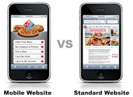 How To Grow Your Business With Local Lead Generation image dominos mobile site 300x220