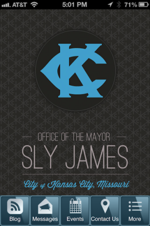Kansas City Mayor Continues Tech Takeover With New App image KCMayorApp1
