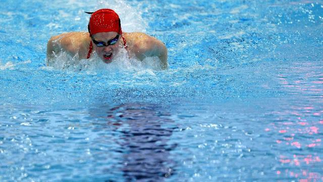 Swimming - Miley makes third final at European short course championships