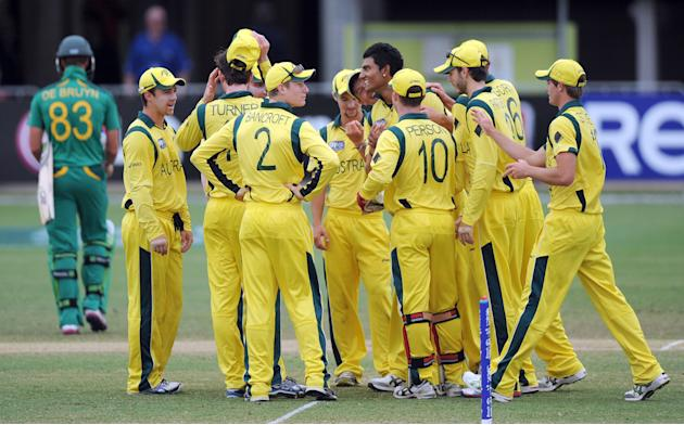 ICC U19 Cricket World Cup 2012 - Semi Final: Australia v South Africa